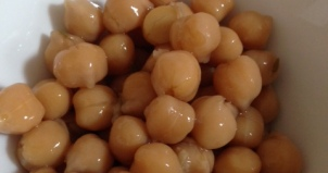Cooked Chick Peas