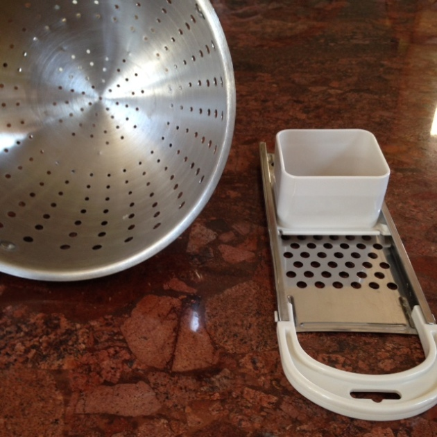 A Spatzle Maker And A Plain 'Ol Colander